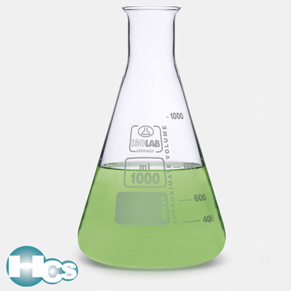 Isolab Erlenmeyer flask with narrow neck
