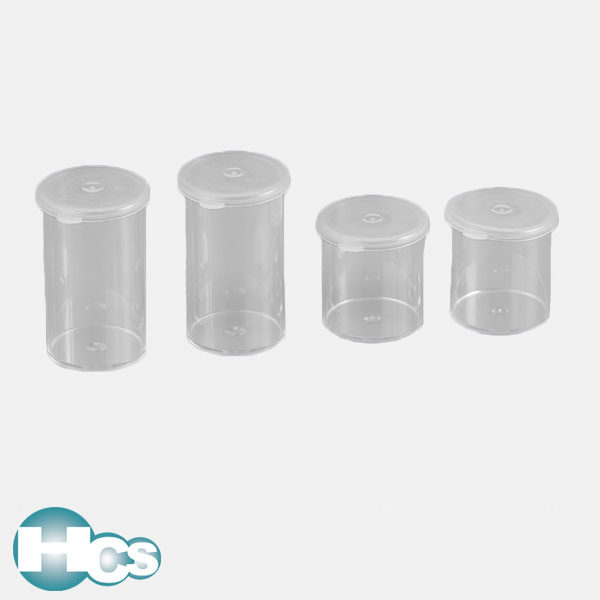 Kartell Snap-on Lid Containers